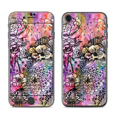 Apple iPhone 7 Skin - Hot House Flowers