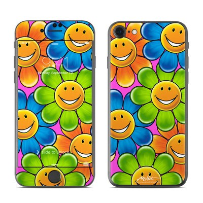 Apple iPhone 7 Skin - Happy Daisies