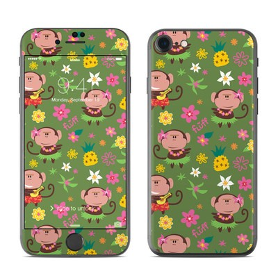 Apple iPhone 7 Skin - Hula Monkeys