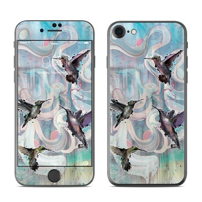 Apple iPhone 7 Skin - Hummingbirds
