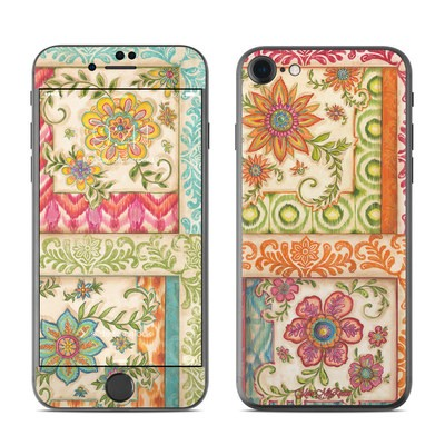 Apple iPhone 7 Skin - Ikat Floral