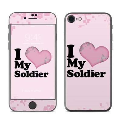 Apple iPhone 7 Skin - I Love My Soldier