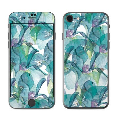 Apple iPhone 7 Skin - Iris Petals