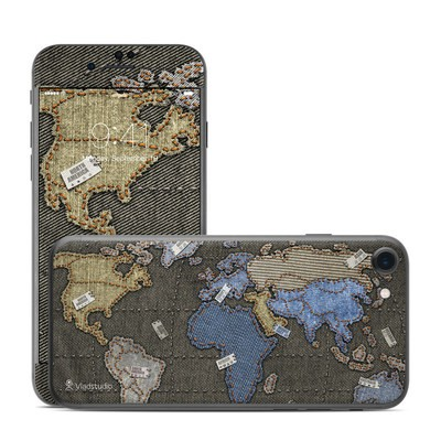 Apple iPhone 7 Skin - Jean Map