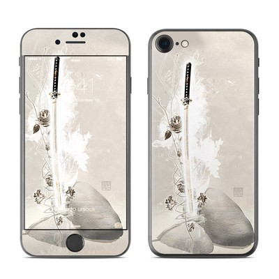 Apple iPhone 7 Skin - Katana Gold