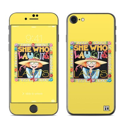 Apple iPhone 7 Skin - She Who Laughs