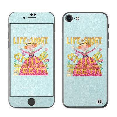 Apple iPhone 7 Skin - Life is Short