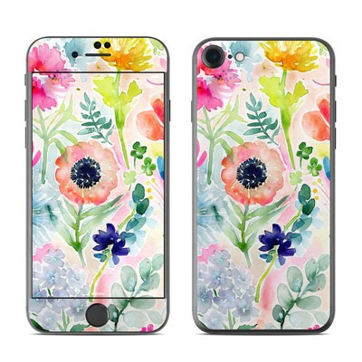 Apple iPhone 7 Skin - Loose Flowers
