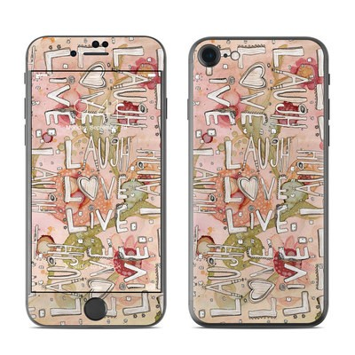 Apple iPhone 7 Skin - Love Floral