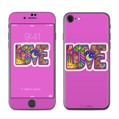 Apple iPhone 7 Skin - Love Text