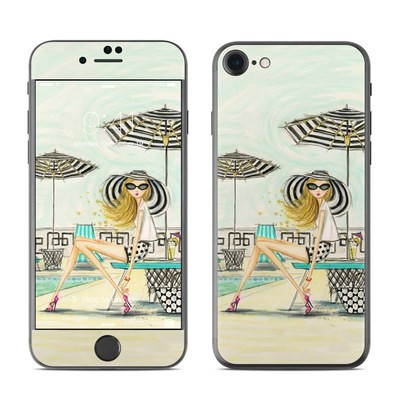 Apple iPhone 7 Skin - Luxe Retreat Poolside