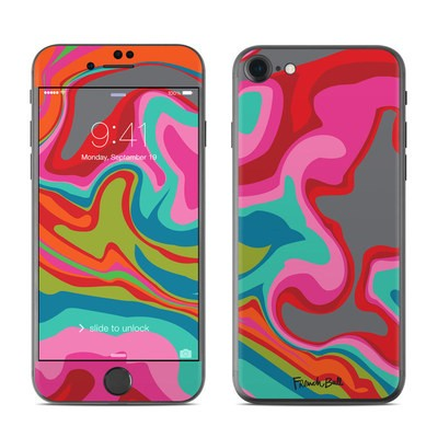 Apple iPhone 7 Skin - Marble Bright