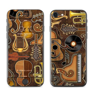 Apple iPhone 7 Skin - Music Elements