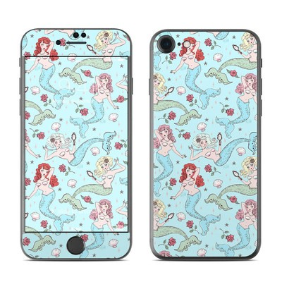 Apple iPhone 7 Skin - Mermaids and Roses