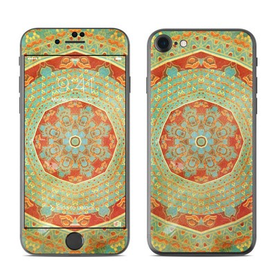 Apple iPhone 7 Skin - Mandala Citrus
