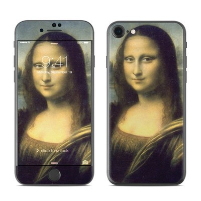 Apple iPhone 7 Skin - Mona Lisa