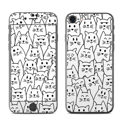 Apple iPhone 7 Skin - Moody Cats