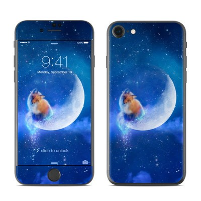 Apple iPhone 7 Skin - Moon Fox