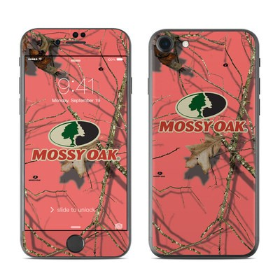 Apple iPhone 7 Skin - Break-Up Lifestyles Salmon
