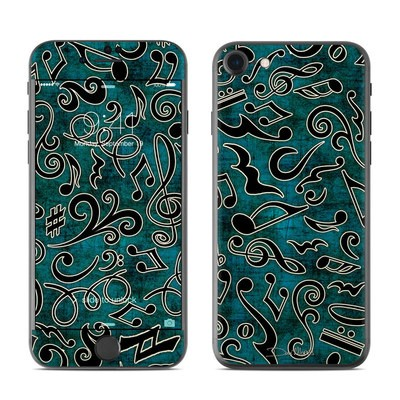 Apple iPhone 7 Skin - Music Notes
