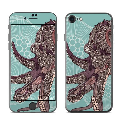 Apple iPhone 7 Skin - Octopus Bloom