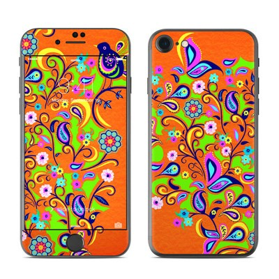Apple iPhone 7 Skin - Orange Squirt