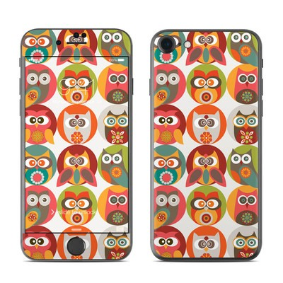 Apple iPhone 7 Skin - Owls Family