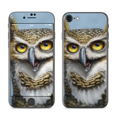 Apple iPhone 7 Skin - Owl Totem