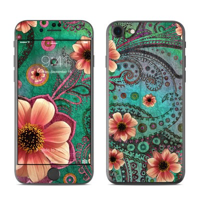 Apple iPhone 7 Skin - Paisley Paradise