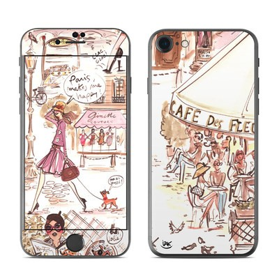 Apple iPhone 7 Skin - Paris Makes Me Happy
