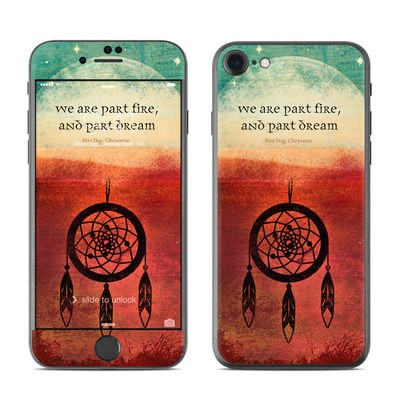 Apple iPhone 7 Skin - Part Fire