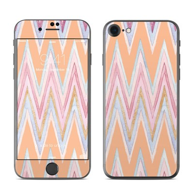 Apple iPhone 7 Skin - Pastel Chevron