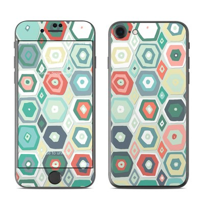 Apple iPhone 7 Skin - Pastel Diamond