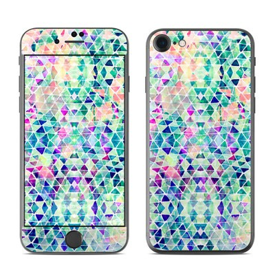 Apple iPhone 7 Skin - Pastel Triangle