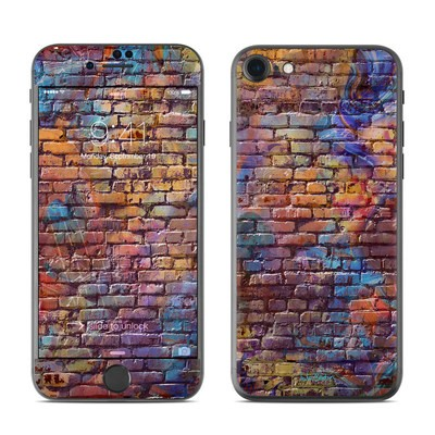 Apple iPhone 7 Skin - Painted Brick