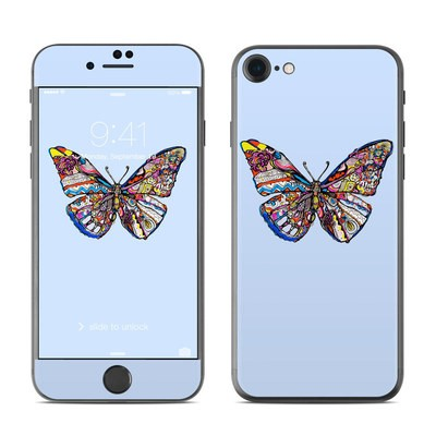 Apple iPhone 7 Skin - Pieced Butterfly