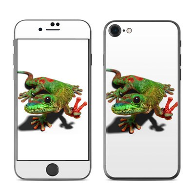 Apple iPhone 7 Skin - Peace Gecko