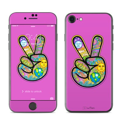 Apple iPhone 7 Skin - Peace Hand