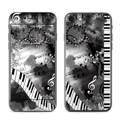 Apple iPhone 7 Skin - Piano Pizazz