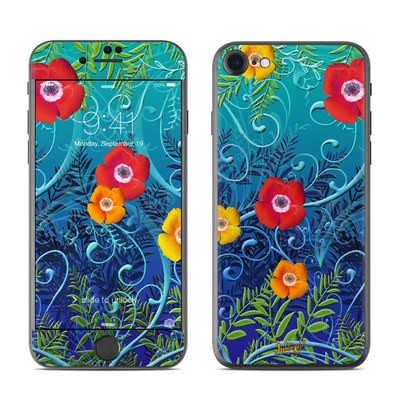 Apple iPhone 7 Skin - Poppies