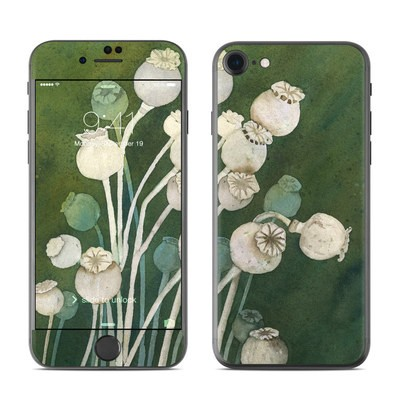 Apple iPhone 7 Skin - Poppy Pods