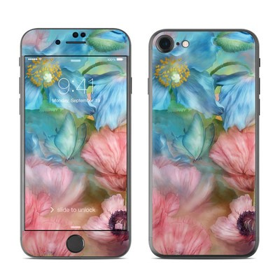 Apple iPhone 7 Skin - Poppy Garden