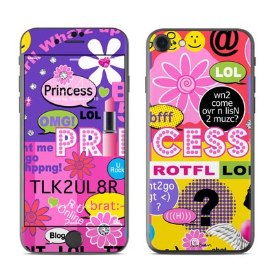 Apple iPhone 7 Skin - Princess Text Me
