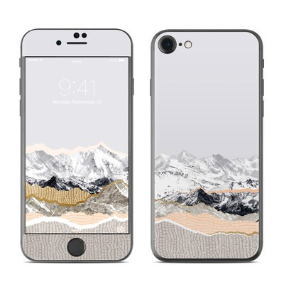 Apple iPhone 7 Skin - Pastel Mountains