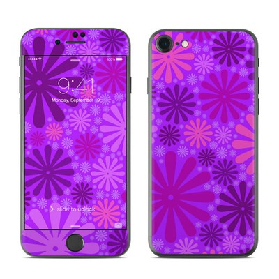 Apple iPhone 7 Skin - Purple Punch