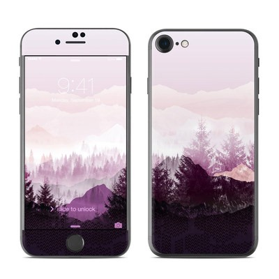 Apple iPhone 7 Skin - Purple Horizon