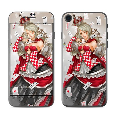 Apple iPhone 7 Skin - Queen Of Cards