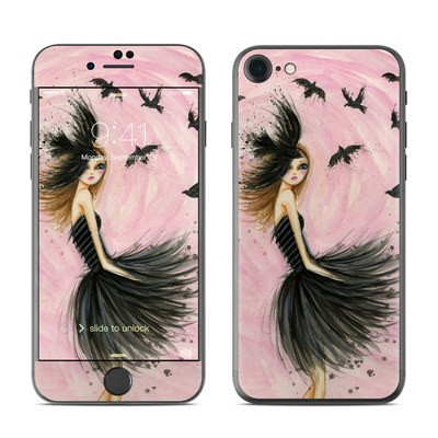 Apple iPhone 7 Skin - Raven Haired Beauty