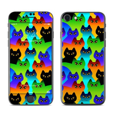 Apple iPhone 7 Skin - Rainbow Cats