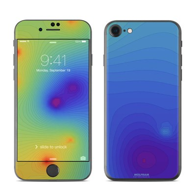 Apple iPhone 7 Skin - Rainbow Contours
